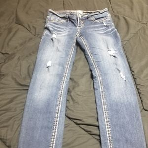 Womans hydraulic jeans